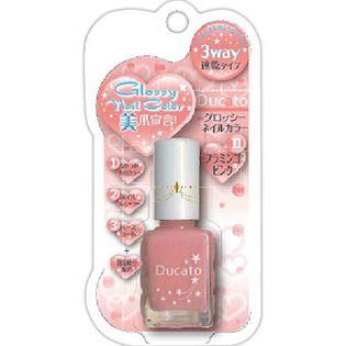 デュカート シャンテイ デュカート グロッシーネイルカラーN フラミンゴピンクの画像