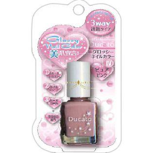 デュカート シャンテイ デュカート グロッシーネイルカラーN ピュアピンクの画像