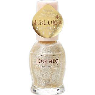 デュカート シャンテイ デュカート ナチュラルネイルカラーN 10 スパークリングゴールドの画像