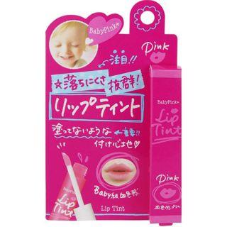 ベビーピンクプラス 牛乳石鹸共進社ベビーピンクプラス リップティント 01 ピンク-の画像
