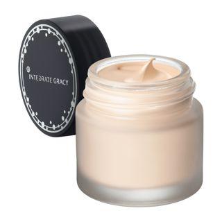 インテグレート グレイシィ モイストクリーム ファンデーション ピンクオークル10 赤味よりで明るめの肌色 25g SPF22 PA++の画像