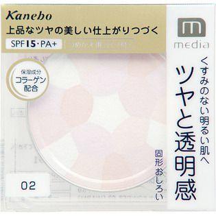 メディア カネボウ化粧品 メディア ブライトアップパウダー ウォーム 02の画像