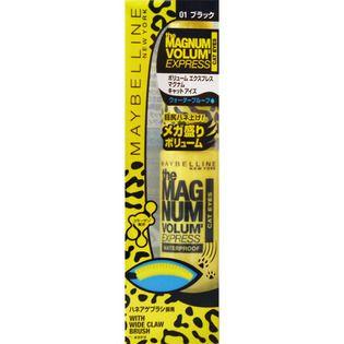 メイベリン ニューヨーク ボリューム エクスプレス マグナム キャット アイズ ウォータープルーフ マスカラ 01 ブラック 生産終了 9.2mlの画像