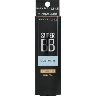 メイベリン ニューヨーク スーパー BB モイストマット 01 ナチュラル オークル 30ml SPF24 PA++の画像