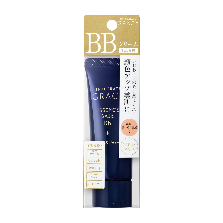 資生堂インテグレート グレイシィ エッセンスベースBB 自然~濃いめの肌色2のバリエーション1