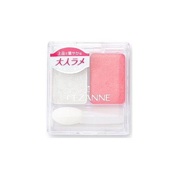 セザンヌ化粧品セザンヌ ツーカラー アイシャドウ ラメシリーズ 02のバリエーション1