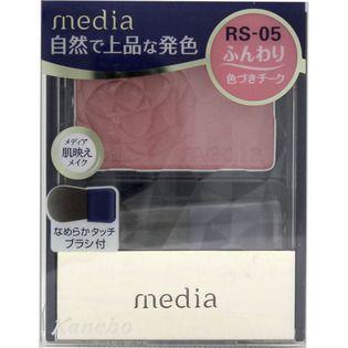 メディア カネボウ化粧品メディア ブライトアップチークN ローズ系RS-05の画像