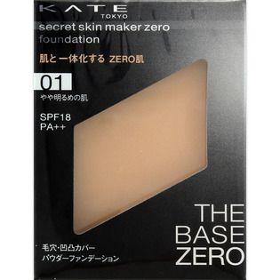 ケイト シークレットスキンメイカーゼロ(パクト) 01 やや明るめの肌 【レフィルのみ】 9.5g SPF18 PA++の画像