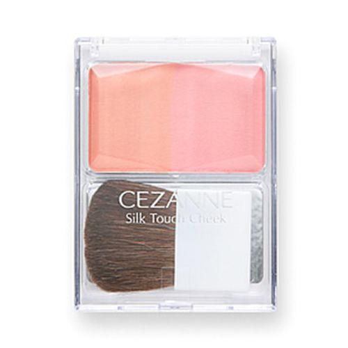 セザンヌ化粧品シルクタッチチーク 02 コーラル系のバリエーション1