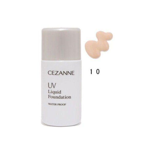 セザンヌ化粧品 UVリキッドファンデーション R 10 明るいオークル系のバリエーション1