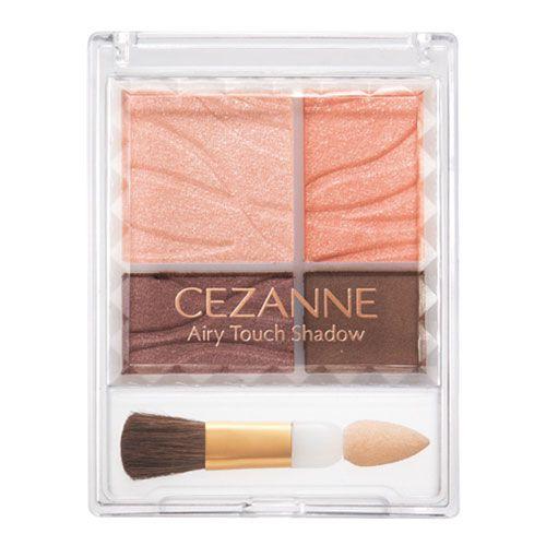 セザンヌ化粧品エアリータッチシャドウ 02 コーラルブラウンのバリエーション4