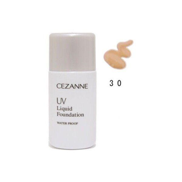 セザンヌ化粧品 UVリキッドファンデーション R 30 健康的なオークル系のバリエーション2