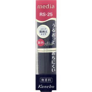 メディア カネボウ化粧品メディア クリーミィラスティングリップA ローズピンクRS25の画像