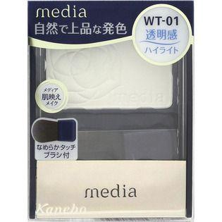 メディア カネボウ化粧品メディア ブライトアップチークN ホワイトWT-01の画像