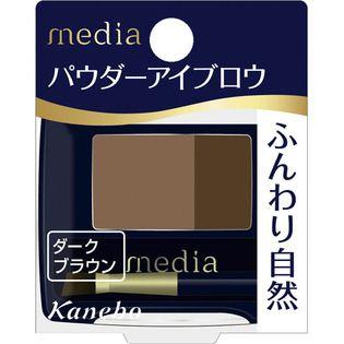 メディア カネボウ化粧品メディア パウダーアイブロウa DB-1 ダークブラウンDB1の画像