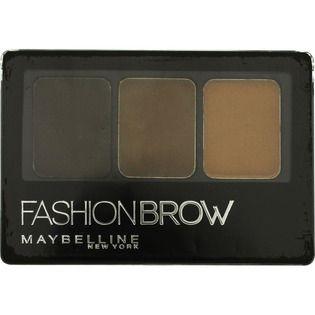 メイベリンメイベリン ファッションブロウ パレット BR-3 明るい茶色のバリエーション1