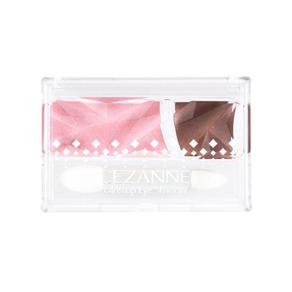 セザンヌ化粧品セザンヌ グロスアップアイシャドウ 02 ピンクブラウンのバリエーション1