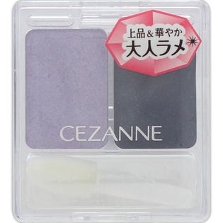 セザンヌ化粧品セザンヌ ツーカラー アイシャドウ ラメシリーズ 04のバリエーション3