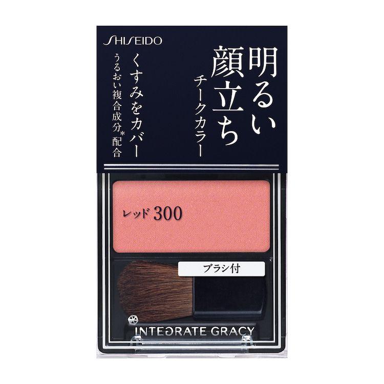 資生堂インテグレート グレイシィ チークカラー レッド300RD300のバリエーション2