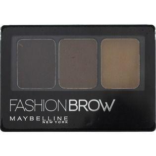 メイベリンメイベリン ファッションブロウ パレット BR-2 自然な茶色のバリエーション1