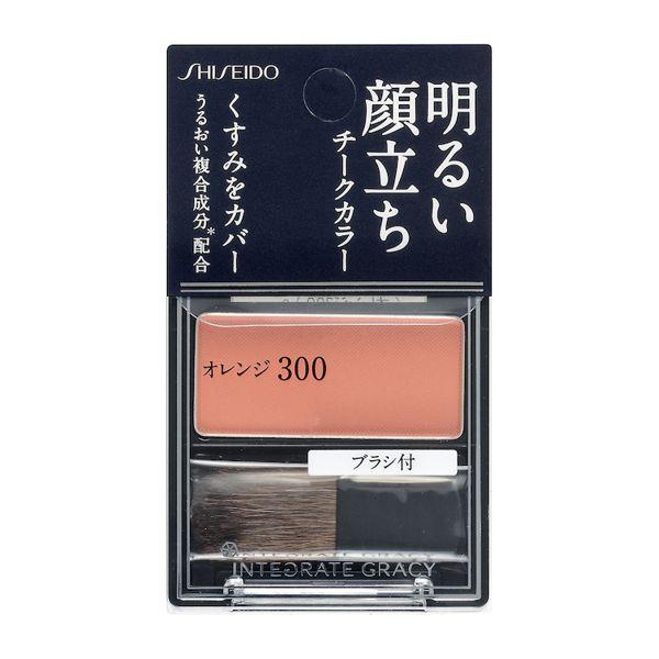 インテグレート グレイシィのチークカラー オレンジ300 2gに関する画像1