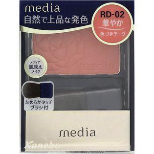 メディア カネボウ化粧品 メディア ブライトアップチークN レッド系 RD-02の画像