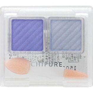 ちふれ アイ カラー 90 ブルー系/涼しげにきらめくブルー 【チップ付】の画像