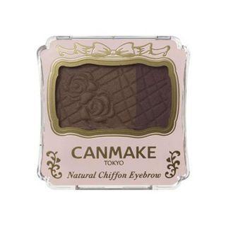 キャンメイク ナチュラルシフォンアイブロウ 02 アーモンドショコラ 生産終了 3.5gの画像