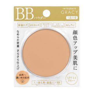 インテグレート グレイシィ エッセンスパウダーBB 2 自然~濃いめの肌色 【レフィル】 7.5g SPF22 PA++の画像