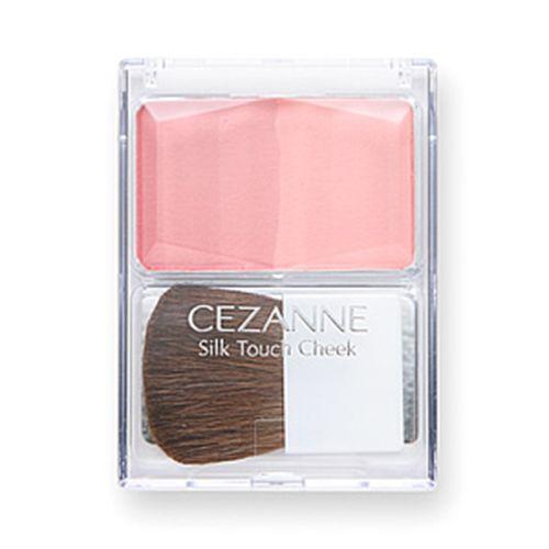 セザンヌ化粧品シルクタッチチーク 01 ピンク系のバリエーション2