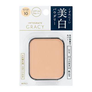 グレイシィ ホワイトパクトEX オークル10 明るめの肌色 【レフィル】 11g SPF26 PA+++の画像