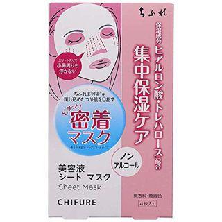 ちふれ 美容液 シート マスク 4枚の画像