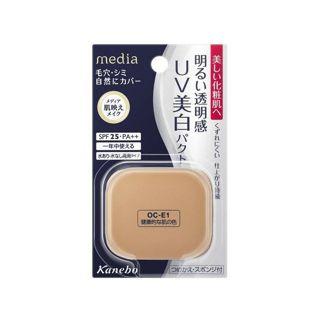 メディア カネボウ化粧品メディア ホワイトニングパクトAIII 健康的な肌の色OC-E1の画像