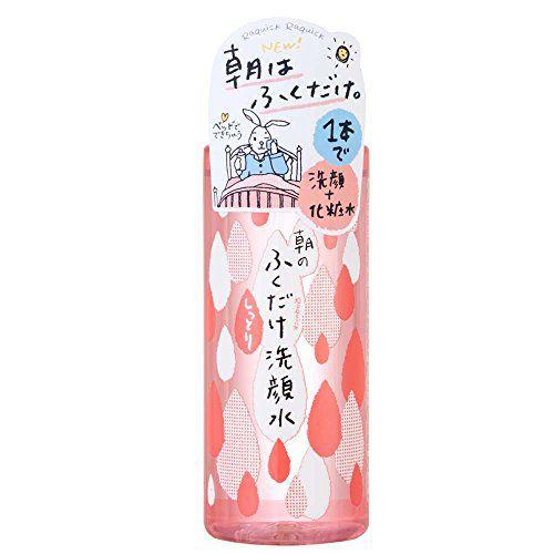 牛乳石鹸共進社ラクイック 朝のふくだけ洗顔水 しっとり310mlのバリエーション1