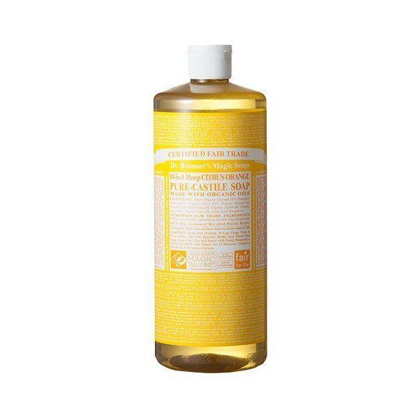 ドクターブロナー マジックソープ シトラスオレンジ 正規品 ( 944mL )/ マジックソープ(Dr.Bronner)のバリエーション2