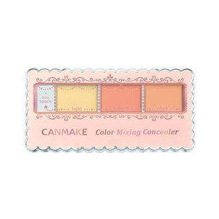 キャンメイク カラーミキシングコンシーラー C12 イエロー&オレンジベージュ 3.9g SPF50 PA++++の画像