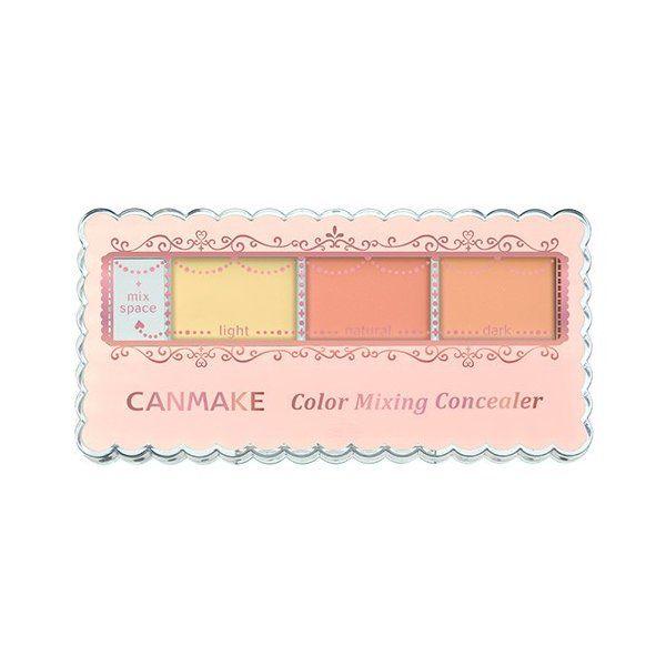 キャンメイクのカラーミキシングコンシーラー C12 イエロー&オレンジベージュ 3.9g SPF50 PA++++に関する画像1