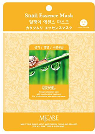 MJケア MJケア エッセンスマスク カタツムリ 10枚セット ( 1セット )/ MJケア(MJ CARE)の画像