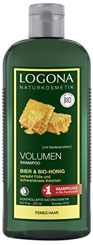 ロゴナ ロゴナ LOGONA ボリュームシャンプー ビール&はちみつ 250ml [008038]の画像
