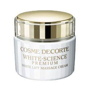 コスメデコルテ ホワイトサイエンス プレミアム ホワイトリフト マッサージクリーム 生産終了 130gの画像
