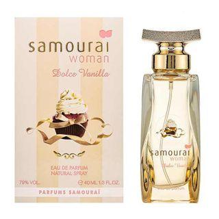アランドロン アランドロン ALAIN DELON サムライ ウーマン ドルチェバニラ EDP・SP 40ml 香水 フレグランス SAMOURAI WOMANの画像