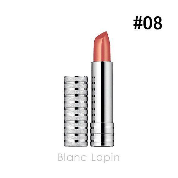 クリニークのロング ラスト リップスティック 08 ゴールデン ブランディ ソフト シャイン 4gに関する画像1