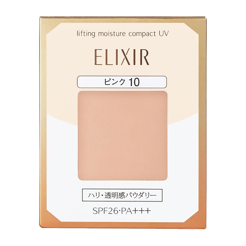 資生堂 エリクシール シュペリエル リフティングモイスチャーパクト UV ピンクオークル10 (レフィル) 9.2gのバリエーション2