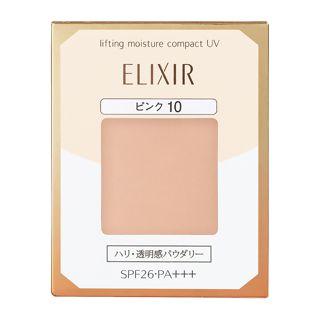 エリクシール シュペリエル リフティングモイスチャーパクト UV ピンク10 9.2gの画像