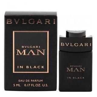 ブルガリ ブルガリ BVLGARI ブルガリ マン イン ブラック EDP 5ml ミニ香水 ミニチュアの画像