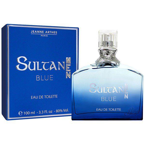 ジャンヌ・アルテスのスルタン メン ブルー オードトワレ みずみずしいフルーツにエレガントな香りが重なり合う 100mlに関する画像1