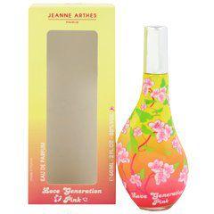 ジャンヌ・アルテス ジャンヌアルテス JEANNE ARTHES ラブ ジェネレーション ピンク EDP・SP 60ml 香水 フレグランスの画像