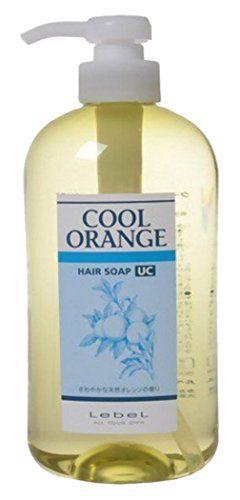 ルベル ルベル クールオレンジヘアソープ UC 600mlの画像