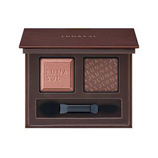 ルナソル デュオ・ドュ・ショコラアイズ EX05 Chocolat Praline 3gの画像