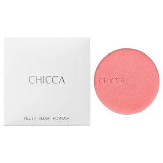 カネボウ キッカ(CHICCA)フローレスグロウ フラッシュブラッシュ パウダー 01 バニータミー<レフィル>の画像
